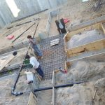 During Construction Foundation